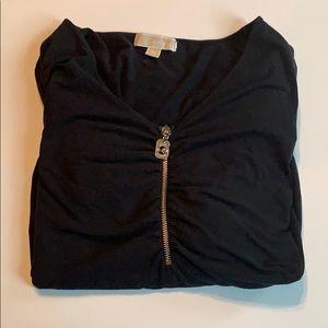 Michael Michael Kors black long sleeve top sz 3x